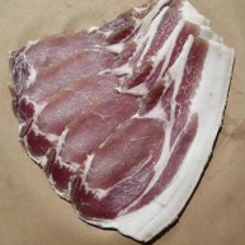 Bushblades Dry Cured Saddle-Back Bacon