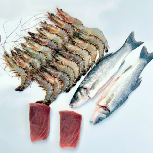 BBQ Fish Box (£3.75 per portion)