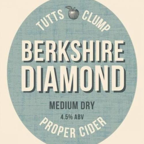 Berkshire Diamond Cider 4.5% ABV