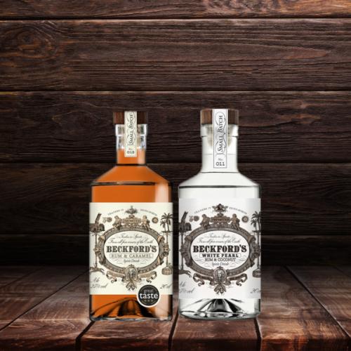 Beckford's Caramel & Beckford's Coconut Rum