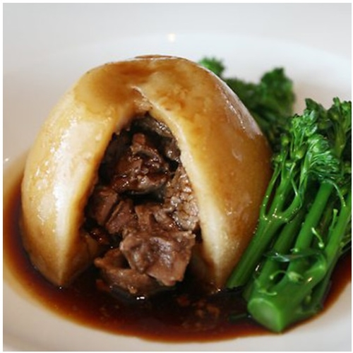 Steak & Kidney Suet Pudding