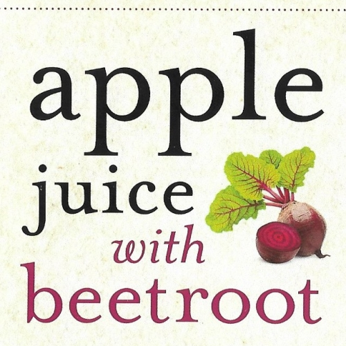 Bentleys apple juice with beetroot