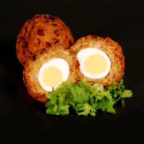 Onion Bhajee Scotch Egg