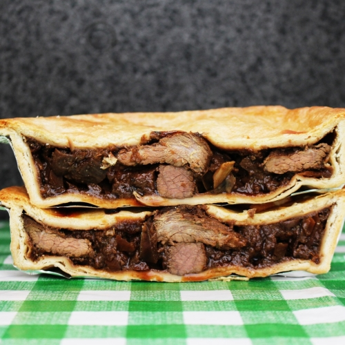 Wild Beaver Pie (Steak & Ale)