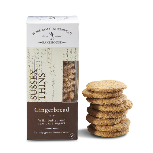 SUSSEX GINGERBREAD THINS BISCUITS– BOX OF 4 PACKS (GLUTEN FREE)