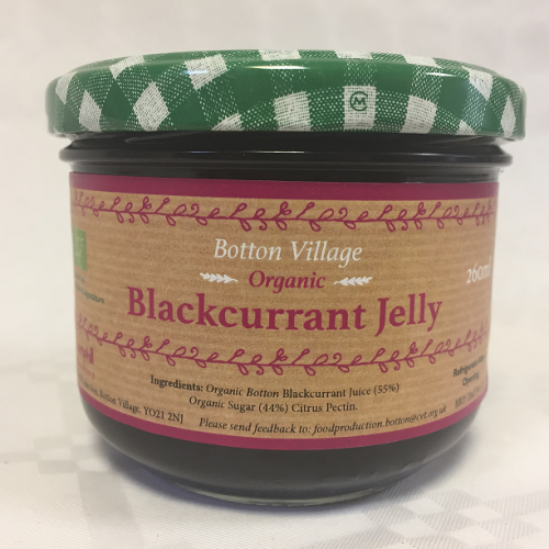 Blackcurrant Jelly, Organic