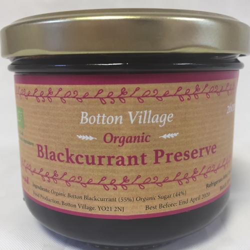 Blackcurrant Preserve, Organic