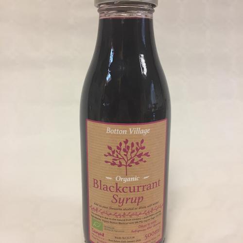 Blackcurrant Syrup, Organic