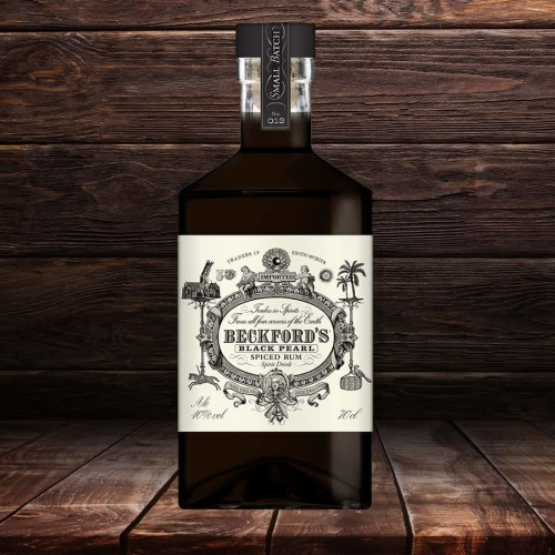 Beckford's Black Pearl Spiced Rum