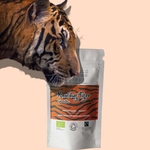 Rumbling Tiger - Single Origin & Fairtrade Organic Sumatran Coffee