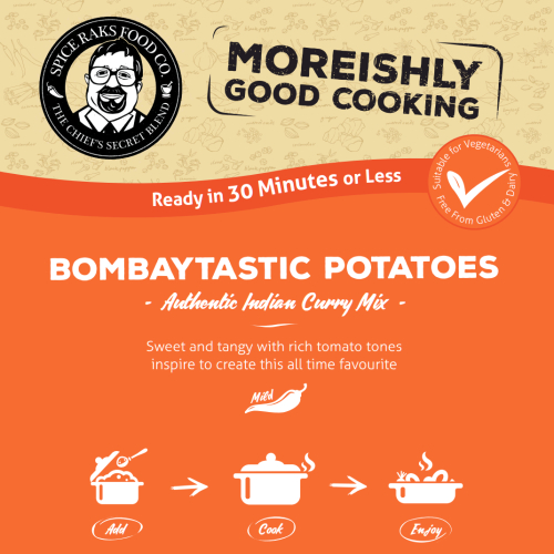 Chief's Bombay Potatoes Curry Sauce Kit ( Dry Mix )