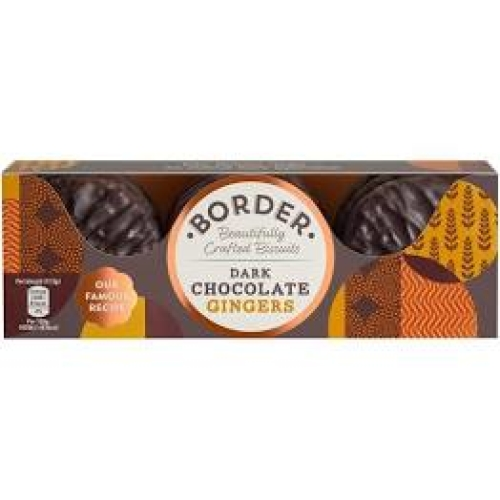 Border Biscuits - Dark Chocolate Gingers
