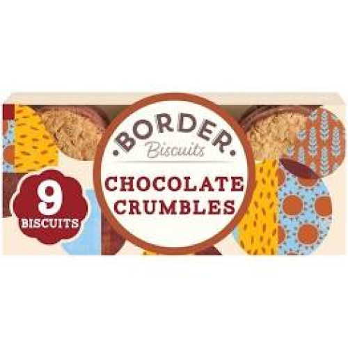Border Biscuits -Chocolate Oat Crumbles