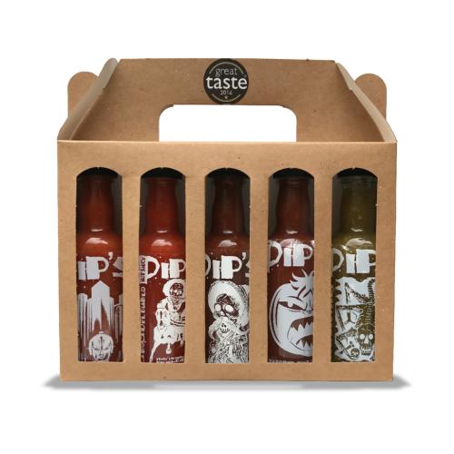 Pip's Hot Sauce Taster Gift Set