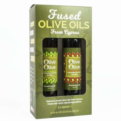 DUO Fused Olive Oil 2 x 250ml Gift Pack