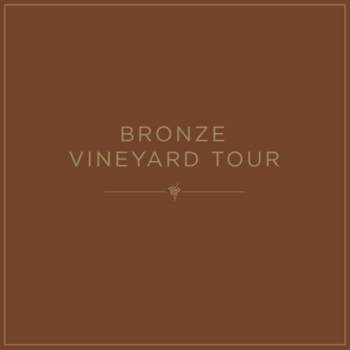 Bronze Vineyard Tour Gift Voucher