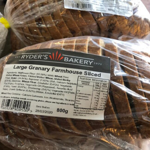 Sliced Granary Farmhouse Loaf (800g)