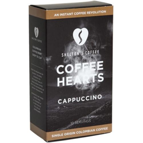 SHELTON'S CAPPUCCINO COFFEE HEARTS