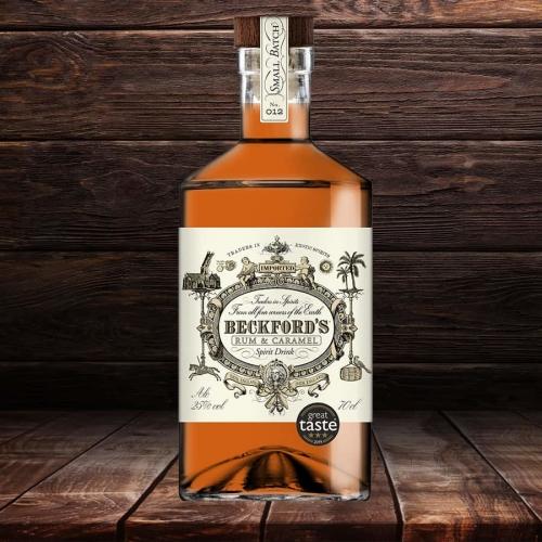 Beckford's Rum and Caramel.