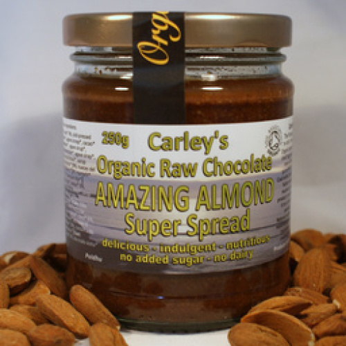 CARLEYS CHOCOLATE ALMOND SPREAD