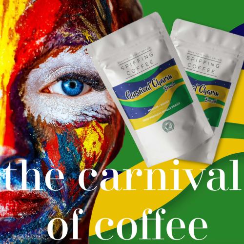 Carnival Charm - Single Origin & Rainforest Alliance Brazilian Coffee