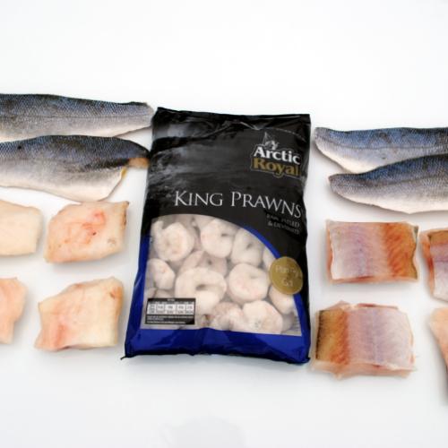 The Caroline's Favourite Fish Box (£4.13 per portion)