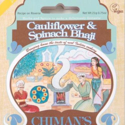 Cauliflower& Spinach spice mix