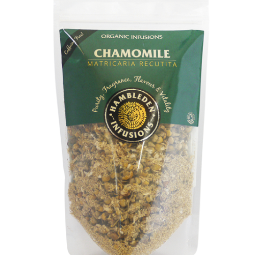 Organic Chamomile Flowers - resealable pouch