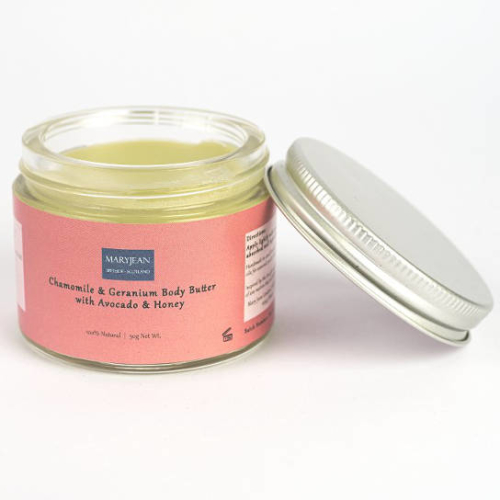 Chamomile and Geranium Body Butter