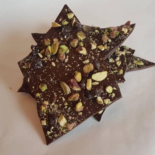 Cherry & Pistachio Chocolate Bark