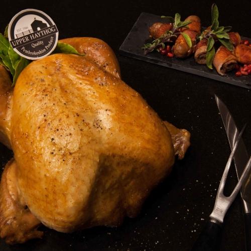 16lb Barn reared White turkey