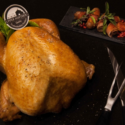 18lb Barn reared White turkey