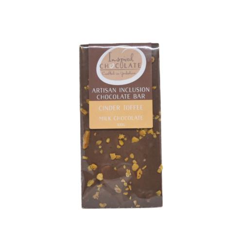 Cinder Toffee Milk Chocolate Bar