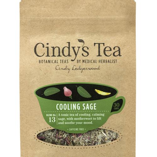Cooling Sage Herbal Tea - flushing, mental clarity