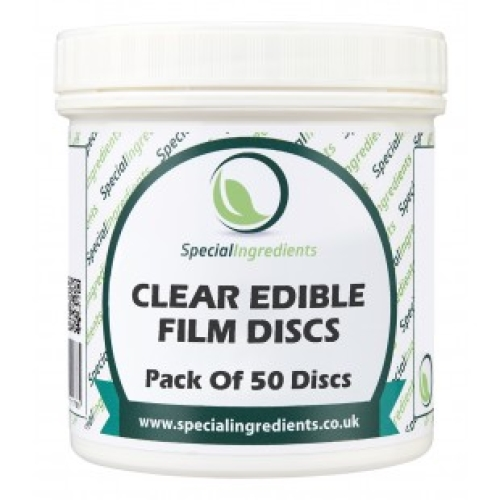 Special Ingredients Clear Edible Film Discs