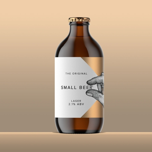 Small Beer Lager 2.1%