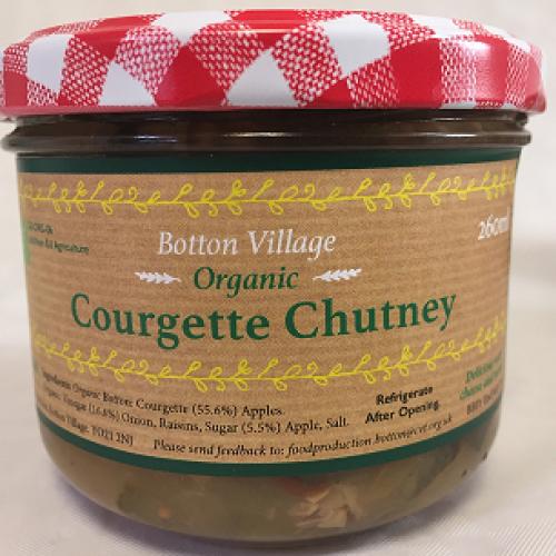 Courgette Chutney, Organic