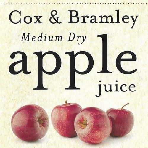 Bentleys Cox and Bramley apple juice