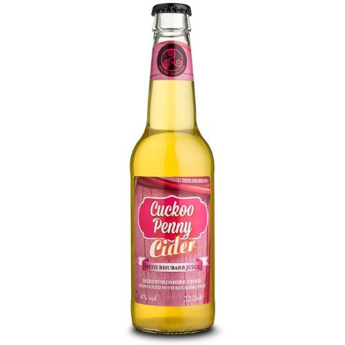 Cuckoo Penny Rhubarb Cider  (330ml x 12 bottles)
