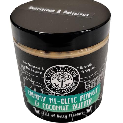 Creamy Hi-Oleic Peanut & Coconut Butter