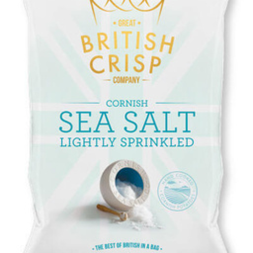 CRISPS CORNISH SEA SALT /W