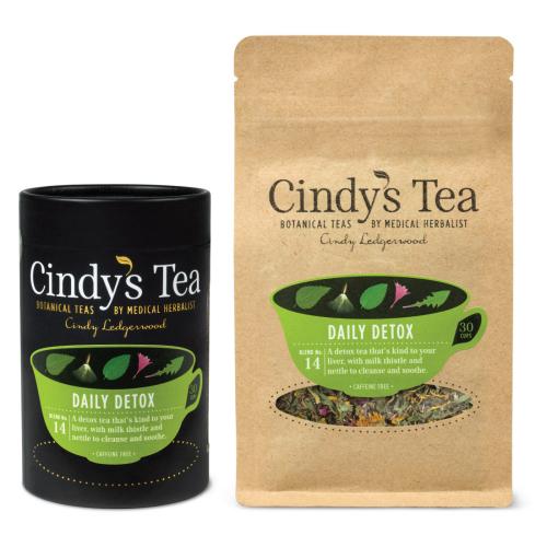 Daily Detox Tea Caddy