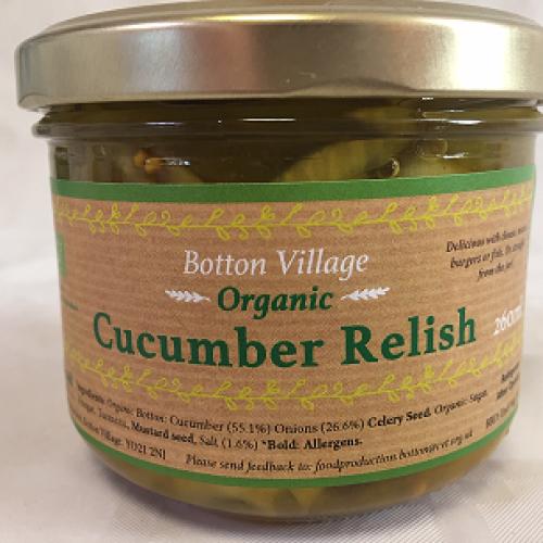 Cucumber Relish, Organic