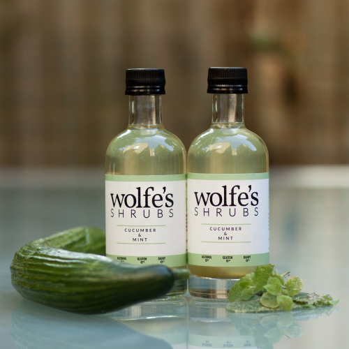 Wolfes Cucumber & Mint Shrub