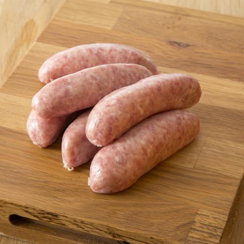 Cumberland type sausages