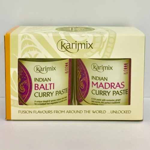 Karimix Indian Balti and Madras Curry Paste Duo Gift Pack