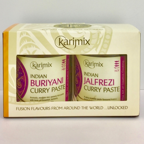 Karimix Indian Buriyani and Jalfrezi Curry Paste Duo Gift Pack