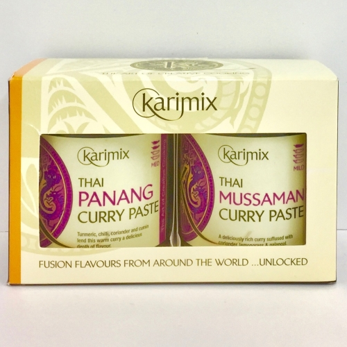 Karimix Thai Panang and Thai Mussaman Curry Paste Duo Gift Pack
