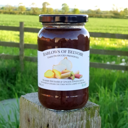 Rearsby Rhubarb & Ginger Chutney