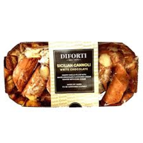 Diforti Pastries-Sicilian Cannoli White Chocolate